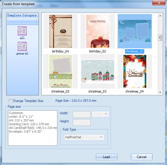 Tutorial of greeting card builder make greeting cards on windows nice layouts in greeting cards with so many templates provided select your favorite template then you can quickly and easily make a greeting card m4hsunfo