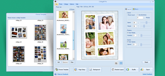 The Easy and Quick Photo Collage Maker for Windows - CollageIt