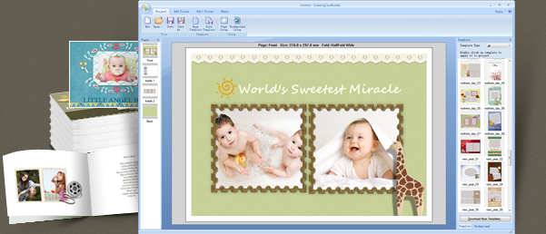 greeting card builder screenshot - Free Online Greeting Card Maker