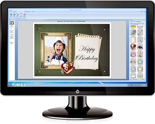 Greeting card software greeting card maker photo greeting card the easy to use card creator for windows m4hsunfo