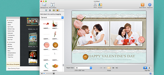 Best greeting card maker for mac greeting box greeting box for mac screenshot m4hsunfo