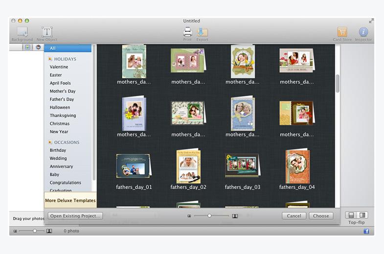 Best greeting card maker for mac greeting box greeting box for mac screenshot m4hsunfo