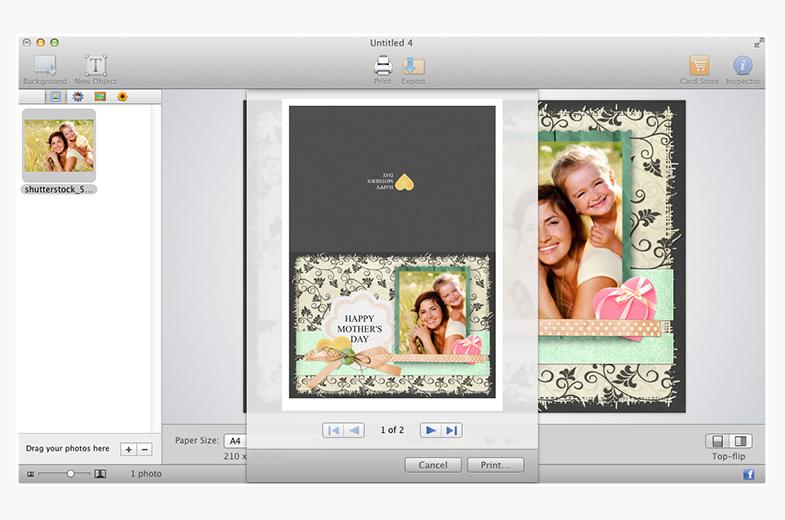 Best greeting card maker for mac greeting box greeting box for mac screenshot 1 m4hsunfo