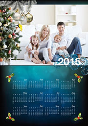 2014 homemade photo calendar template