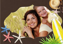 wonderful chocolate picture frame collage template