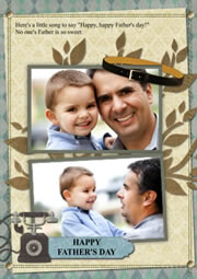 lovely greeting card for father