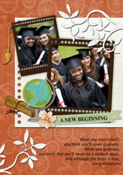awesome graduation invites card