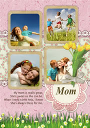 printable greeting card for mom