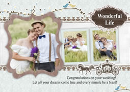 gorgeous wedding invitation cards
