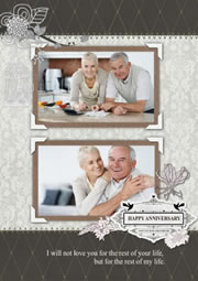 simple wedding anniversary cards