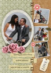 greeting card template for wedding anniversary