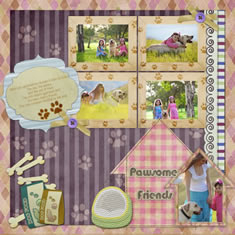 scrapbook album for pet life