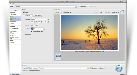 PearlMountain Image Converter screenshot