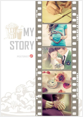 filmstrip poster template
