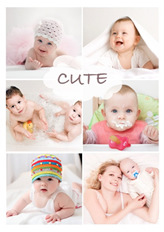 so cute poster template