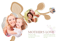 stylish mother's day template