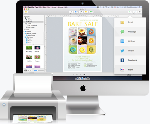 Print your desktop publishing with high resolution