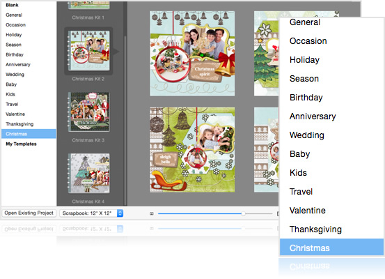 digital scrapbook art resources