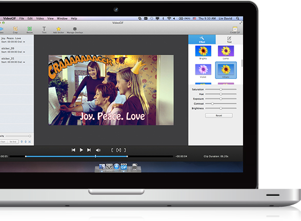 VideoGIF for Mac