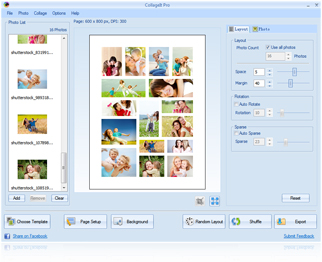 CollageIt Pro for Windows Screenshot