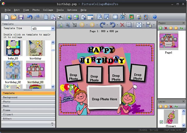Make A Special Photo Collage Gift For Birthday