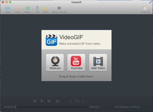 How to convert youtube to gif quickly launch videogif negle Images