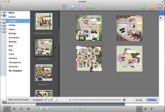 How To Make Family Scrapbook With Digital Scrapbooking Software