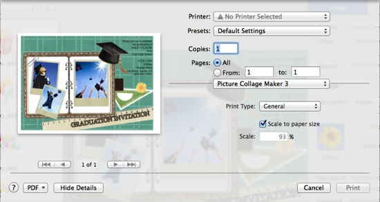 How to make graduation invitations with easy graduation invitation print invitation card stopboris Choice Image