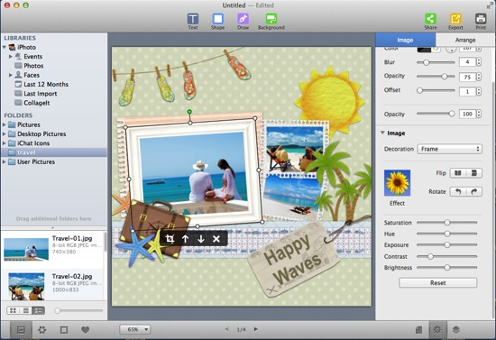 How to Make Travel Scrapbook Using Digital Scrapbooking Software