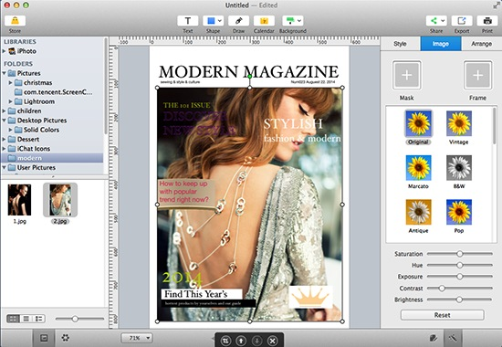 How to Make Magazine on Mac