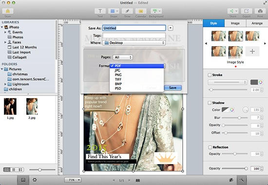 How to Make Magazine on Mac