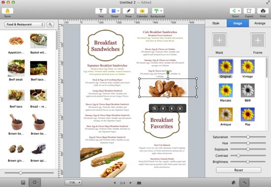 menu designer online elita aisushi co
