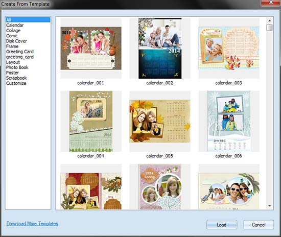 Diy Custom Photo Calendar 2015 From Calendar Template