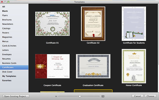 Certificate templates give you ideas for printable certificates certificate templates yelopaper Gallery