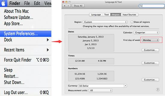 Diy Printable Monthly Calendar From Calendar Template