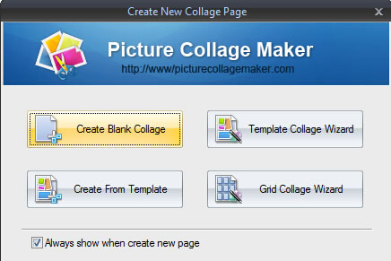 four methods to make collage