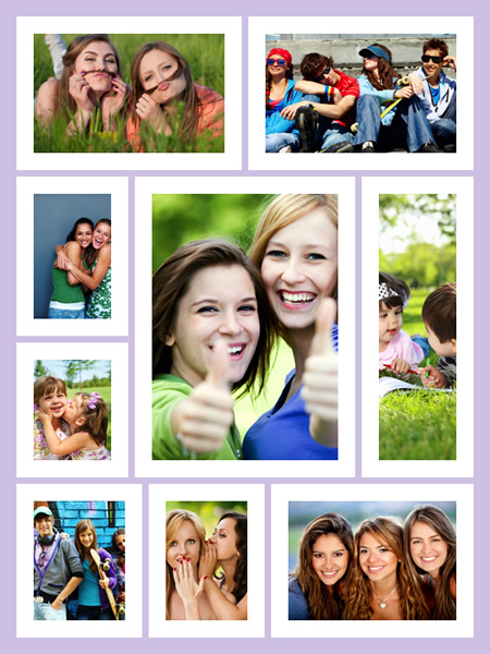 Photo Collage Samples & Templates | Collage Maker for Mac | Make ...