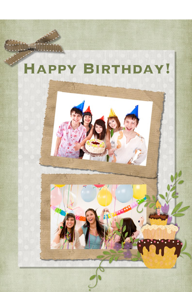 Make Custom Birthday Card With Happy Photos