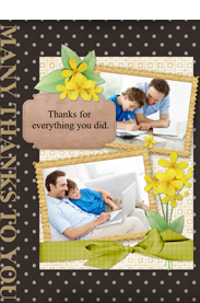 thank you card for everything you did