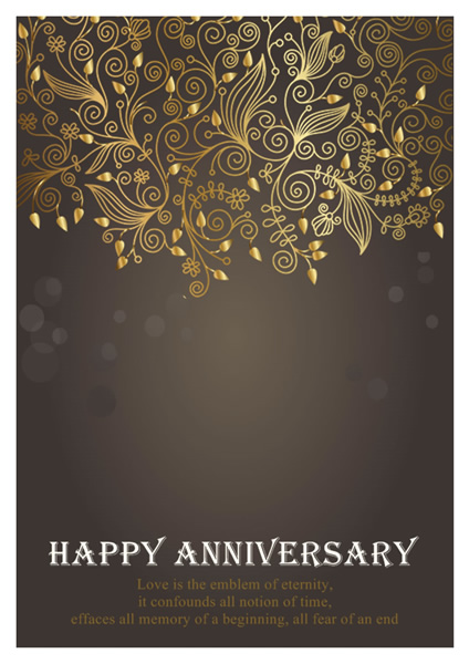 Template Anniversary Card. Anniversary Card Templates Greeting Card Builder  .  Print Your Own Anniversary Card