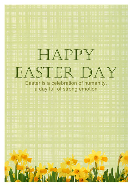 Easter Card Templates  Greeting Card Builder