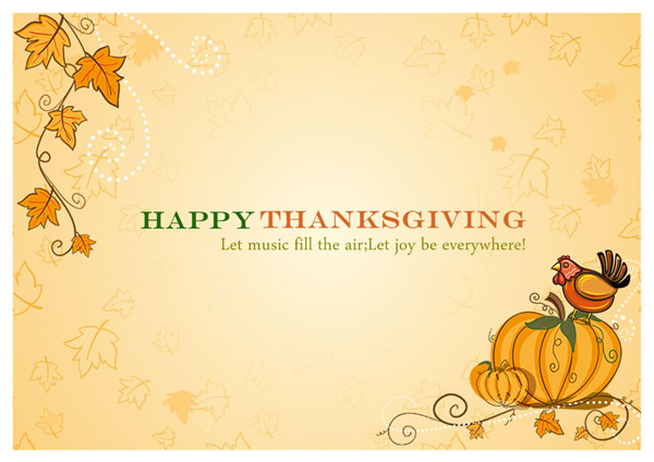 thanksgiving card templates
