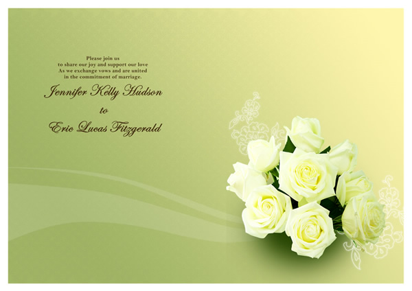 wedding card templates greeting card builder
