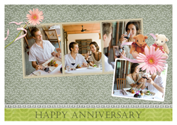 love anniversary card template