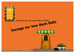 greeting card of baby thank you cards