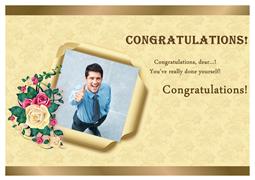Greeting card samples greeting card maker photo greeting card congratulation greeting card sample m4hsunfo Choice Image
