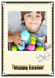 lovely baby easter card