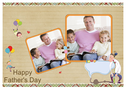 memorable greeting card for Dad