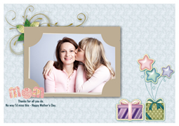 sweet mothers day card template