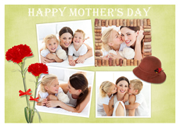 happy mothers day card sample